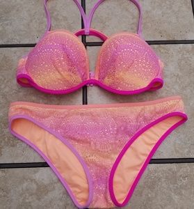Victoria's Secret the fabulous bikini set NWOT